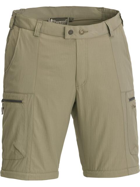 Pinewood M's Namibia Shorts Mid Khaki